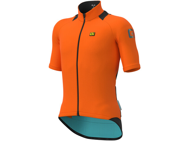 Alé Cycling Klimatik K-Idro WR Maillot À Manches Courtes Homme, fluo orange